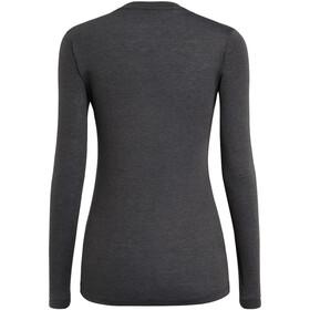 SALEWA Solidlogo Dry T-shirt à manches longues Femme, black out melange